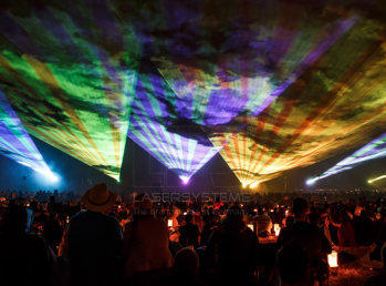 Rent a laser show, laser light show directly from the producer!